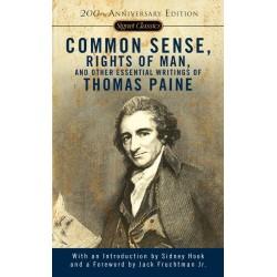 Common Sense,Rights of Man & ; Paine, Thomas