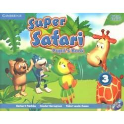 SUPER SAFARI LEV 3 PUPIL'S BOOK + DVD-ROM