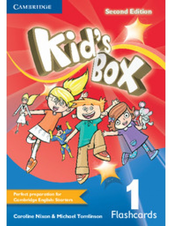 Kid's Box Level 1 Flashcards (pack of 96)