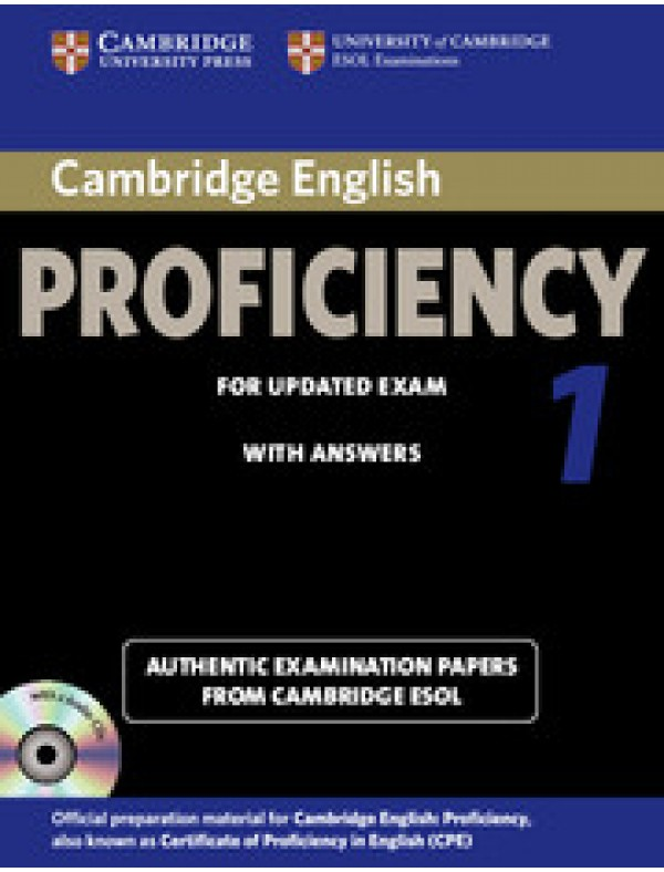 Cambridge English Proficiency 1 Self-study Pack (Student's Book with answers and Audio CDs (2))