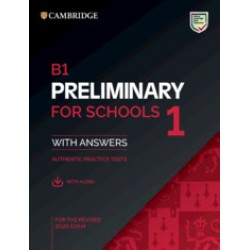 B1 Preliminary for Schools 1 for revised exam from 2020 Student's Book with Answers with Audio