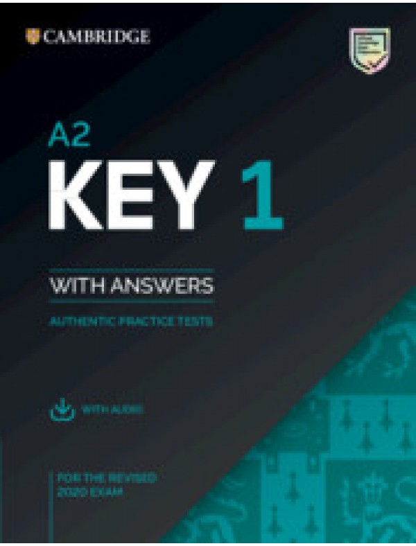 A2 Key 1 for revised exam from 2020 Student's Book with Answers with Audio