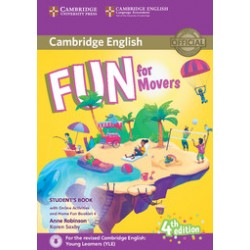 Fun for Movers Student's Book with Online Activities with Audio and Home Fun Booklet