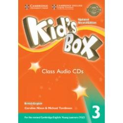 Kid's Box Level 3 Class Audio