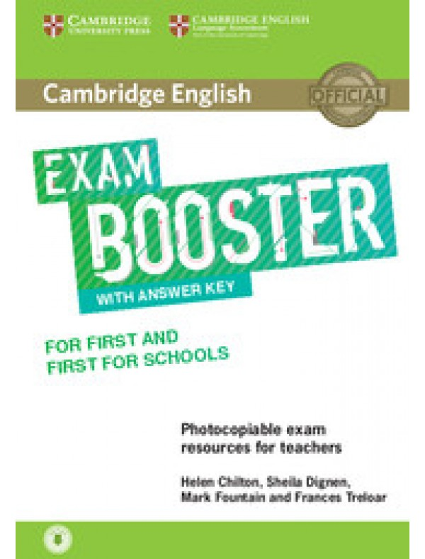 Cambridge English Exam Boosters Booster for First and First for Schools with Answer Key with Audio