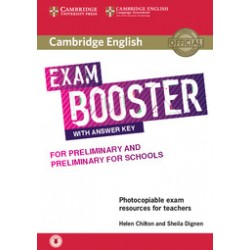 Cambridge English Exam Boosters Booster for Preliminary and Preliminary for Schools with Answer Key with Audio