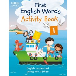 First English Words Activity Book 1