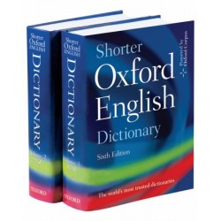 Shorter Oxford English Dictionary Sixth Edition