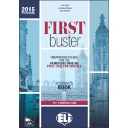 FIRST BUSTER  - Student's Book with 3 Audio CDs