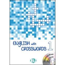 ENGLISH WITH CROSSWORDS 1 - New edition with DVD-ROM