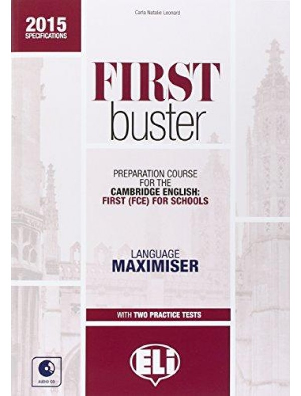 FIRST BUSTER  - Language maximizer with Practice Tests + 2 CDs