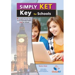 Simply Cambridge English KEY (KET) for Schools  - 6 Practice Tests - Self-Study Edition
