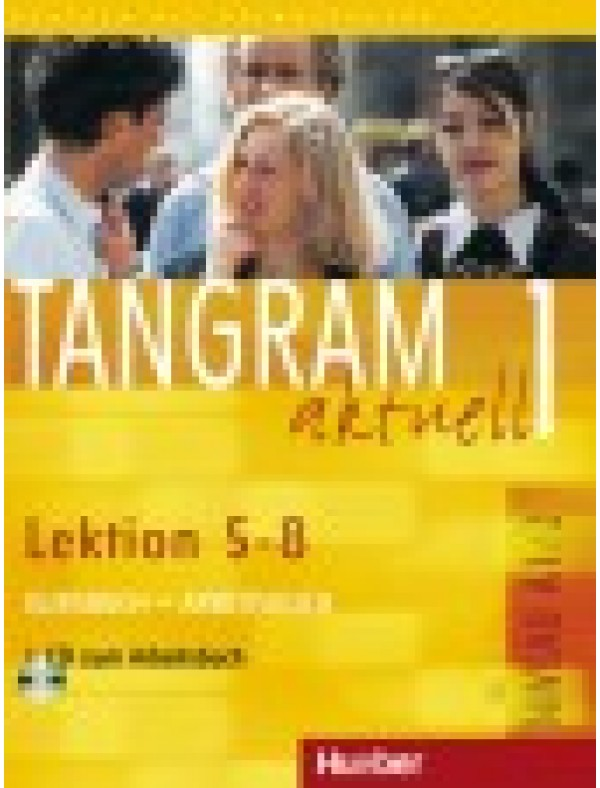 Tangram aktuell 1, Kursbuch + Arbeitsbuch, Lektion 5-8 + CD zum Arbeitsbuch