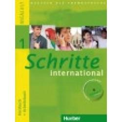 Schritte international 1, Kursbuch + Arbeitsbuch + CD zum Arbeitsbuch