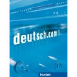 deutsch.com 1, Arbeitsbuch mit integrierter CD zum Arbeitsbuch