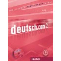 deutsch.com 2, Arbeitsbuch mit integrierter CD zum Arbeitsbuch