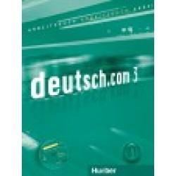 deutsch.com 3, Arbeitsbuch mit integrierter CD zum Arbeitsbuch