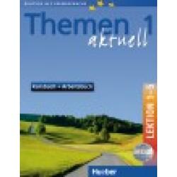 Themen aktuell 1, Kursbuch und Arbeitsbuch, Lektion 1-5, + CD-ROM