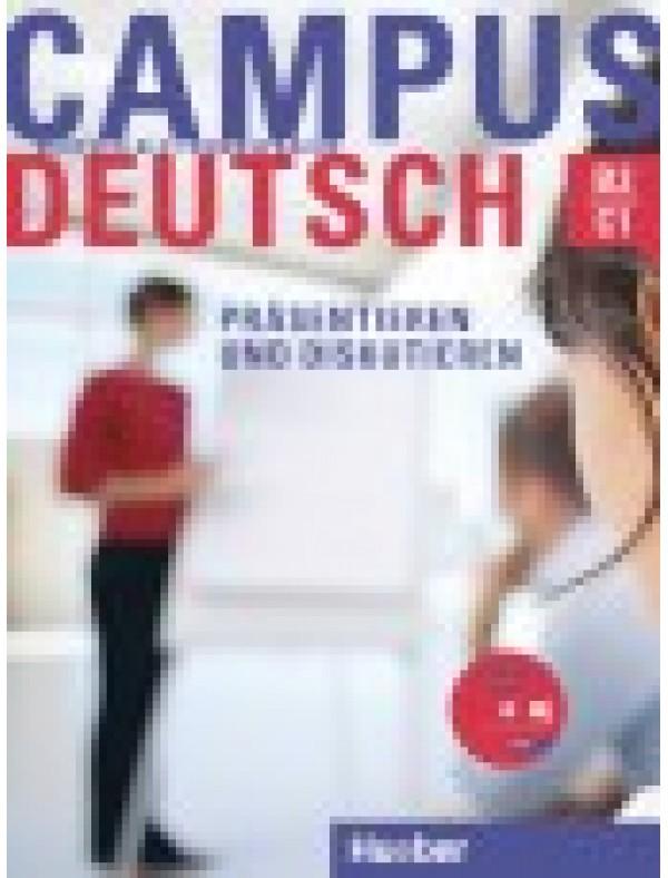 Campus Deutsch, Präsentieren und Diskutieren, Kursbuch mit CD-ROM (Audio + Video)