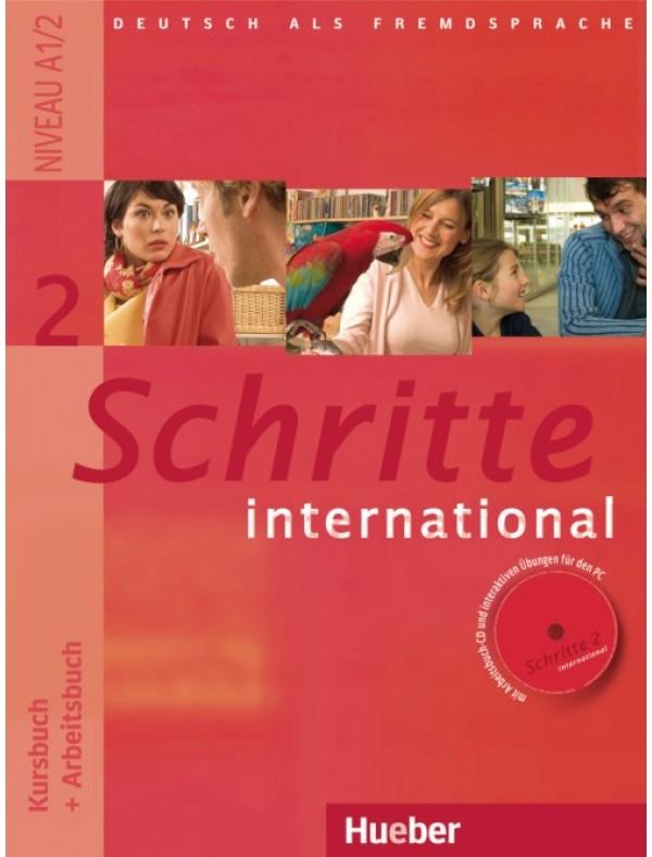 Schritte international 2, Kursbuch + Arbeitsbuch + CD zum Arbeitsbuch