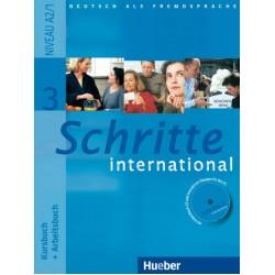 Schritte international 3, Kursbuch + Arbeitsbuch + CD zum Arbeitsbuch