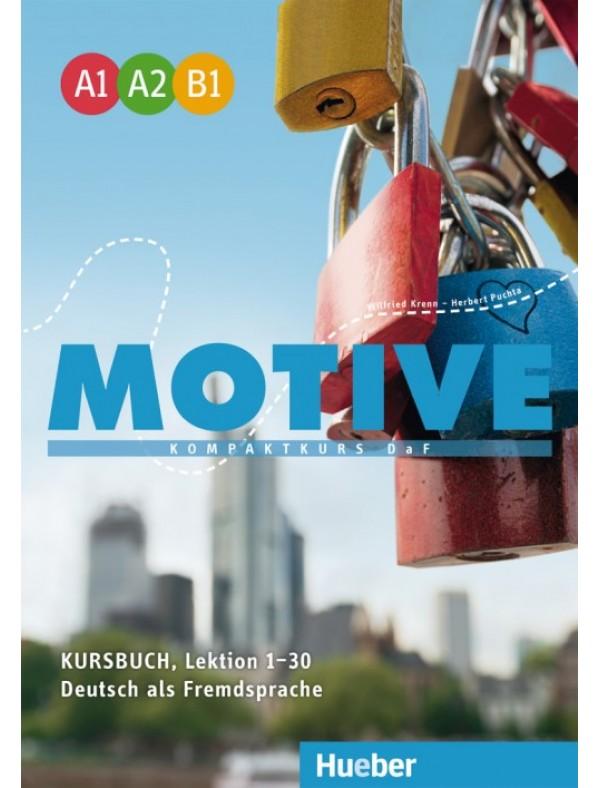Motive  A1–B1 Kompaktkurs DaF / Kursbuch, Lektion 1–30