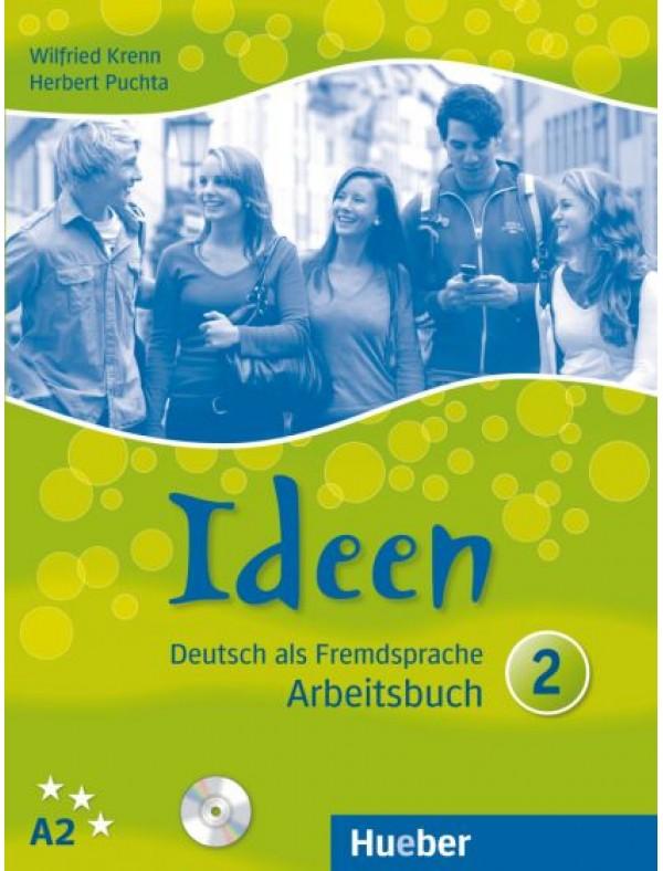 Ideen 2, Arbeitsbuch mit 2 CDs zum Arbeitsbuch