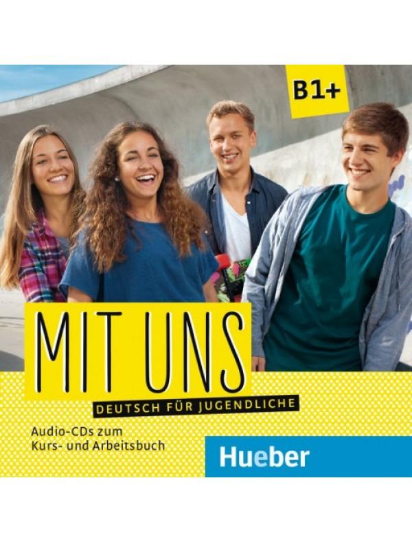 Mit uns B1+ Deutsch für Jugendliche / 1 Audio-CD zum Kursbuch, 1 Audio-CD zum Arbeitsbuch