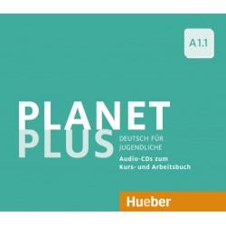 Planet Plus A1.1 2 Audio-CDs zum Kursbuch, 1 Audio-CD zum Arbeitsbuch