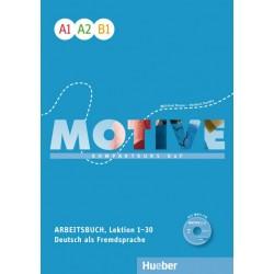 Motive  A1–B1 Kompaktkurs DaF / Arbeitsbuch, Lektion 1–30 mit MP3-Audio-CD