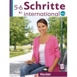 Schritte international Neu 5+6 Arbeitsbuch+CDs zum Arbeitsbuch