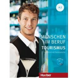 Menschen im Beruf - Tourismus A2 Kursbuch mit Übungsteil und Audio-CD