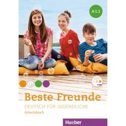 Beste Freunde A1 Deutsch für Jugendliche / Paket Arbeitsbuch A1/1 und A1/2 mit 2 CD-ROMs