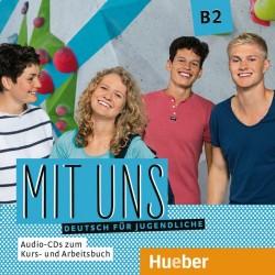 Mit uns B2 Deutsch für Jugendliche / 1 Audio-CD zum Kursbuch, 1 Audio-CD zum Arbeitsbuch