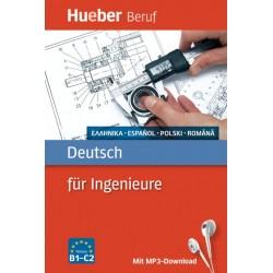 Deutsch für Ingenieure Buch mit MP3-Download Griechisch, Spanisch, Polnisch, Rumänisch
