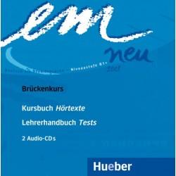 em neu Brückenkurs, 2 CDs zum Kursbuch