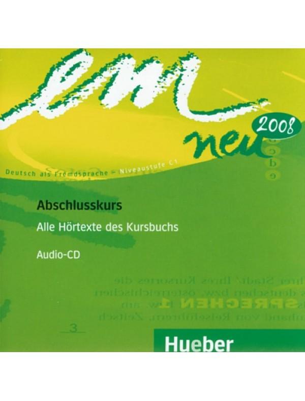 em neu Abschlusskurs, 1 CD zum Kursbuch