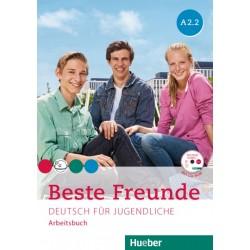 Beste Freunde A2/2, Arbeitsbuch + CD-ROM