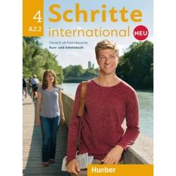 Schritte international Neu 4 Kursbuch + Arbeitsbuch + CD zum Arbeitsbuch