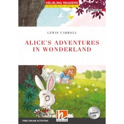 Alice's Adventures  in Wonderland + CD (Level 2) by Lewis Carroll)
