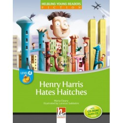 Henry Harris Hates Haitches + CD/CDR                                                                                                                    by Maria Cleary, Level D