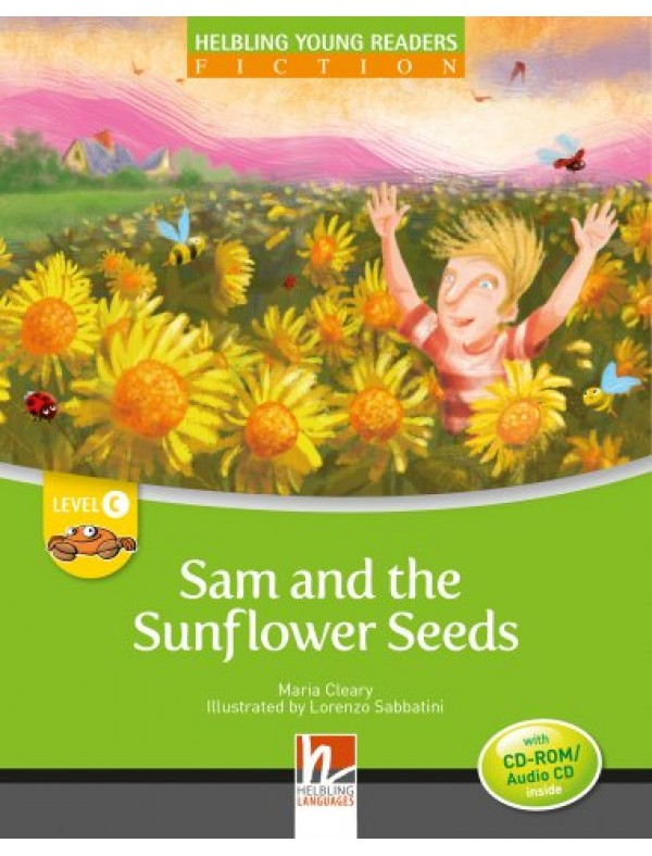 Sam and the Sunflower Seed + CD/CDR, by Maria Cleary, Level C