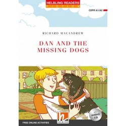 Dan and the Missing Dogs + CD (Level 2) by Richard MacAndrew