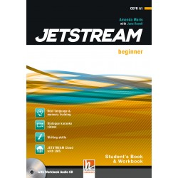 JETSTREAM BEGINNER STUDENT'S AND WORKBOOK WITH CD