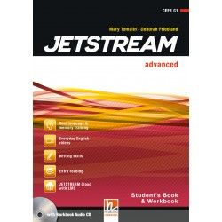 JETSTREAM ADVANCED STUDENT'S AND WORKBOOK WITH CD
