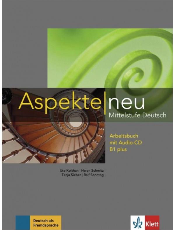Aspekte neu B1+, Arbeitsbuch  +  Audio-CD