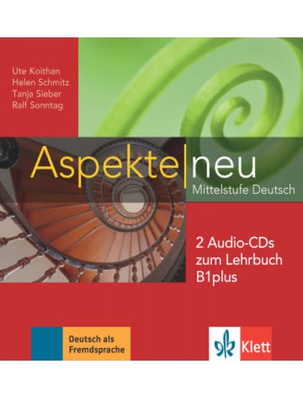 Aspekte neu B1+, Audio-CDs zum LB