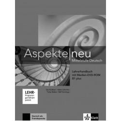 Aspekte neu B1+,Lehrerhandbuch + Medien-DVD-ROM