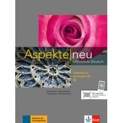 Aspekte neu B2, Arbeitsbuch + Audio-CD