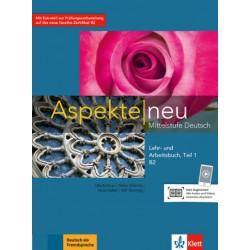 Aspekte neu B2, Lehr-/Arbeitsbuch Teil 1